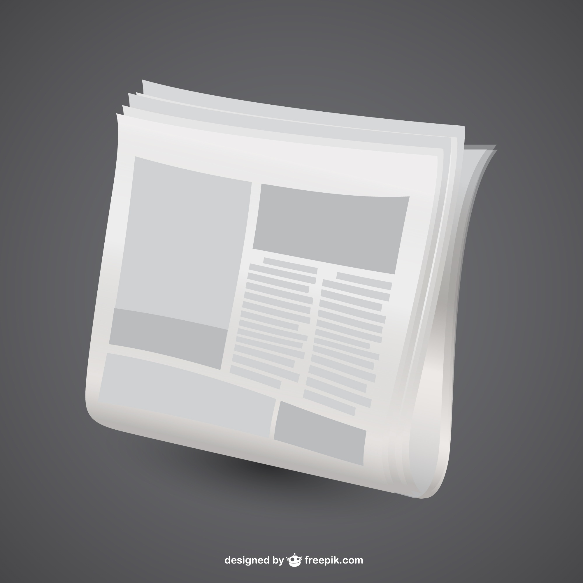 White newspaper