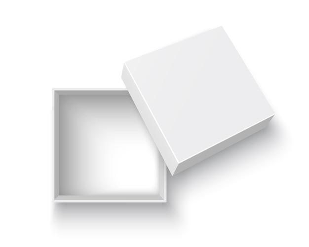 White open box illustration