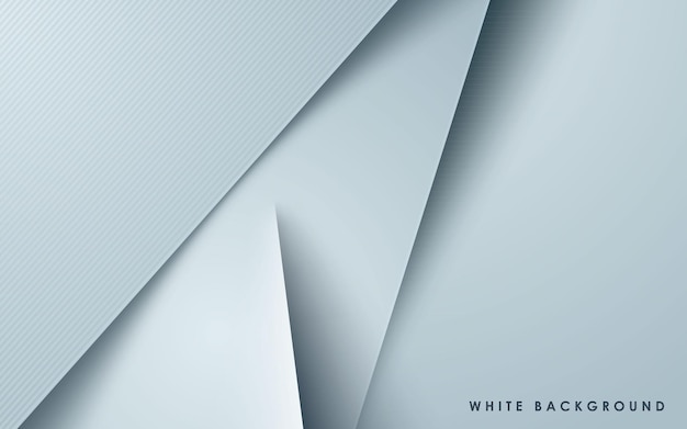 White overlap layers background papercut effect