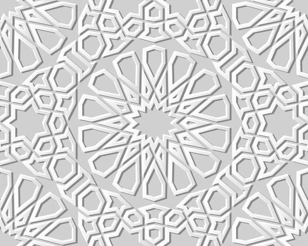 백서 아트 기하학 크로스 패턴 원활한 배경, 웹 배너 인사말 카드에 대 한 세련 된 장식 패턴 배경