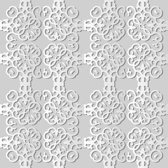 White paper art spiral vortex curve cross square frame,  stylish decoration pattern background for web banner greeting card