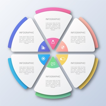 White paper business infographic