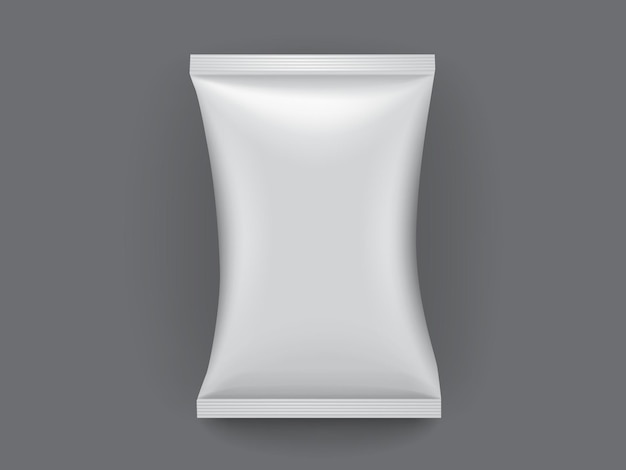 어두운 배경에 고립 된 백서 포장