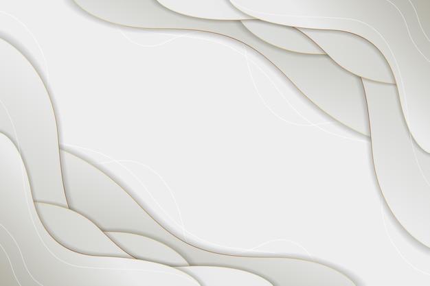 Белая бумага стиль абстрактный фон