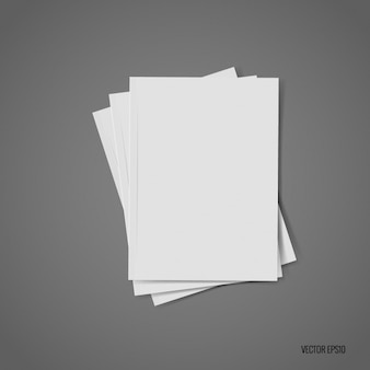 Белый кусок дизайна бумаги