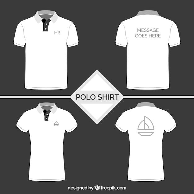 polo shirt vectors photos and psd files free download rh freepik com polo shirt vector free polo shirt vector art