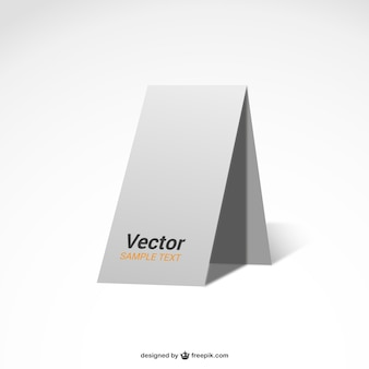 White poster blank mock-up template