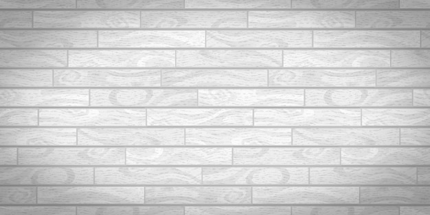 テクスチャと白の現実的な木の板