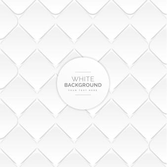 白い菱形のパターンの背景