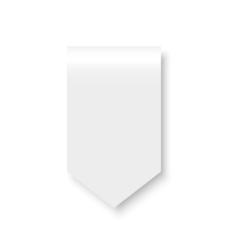 白いリボン。国旗。 。