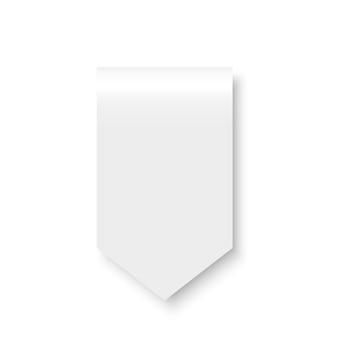 White ribbon. flag. .