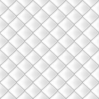 White seamless tiles pattern