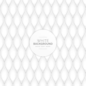 White shapes pattern background