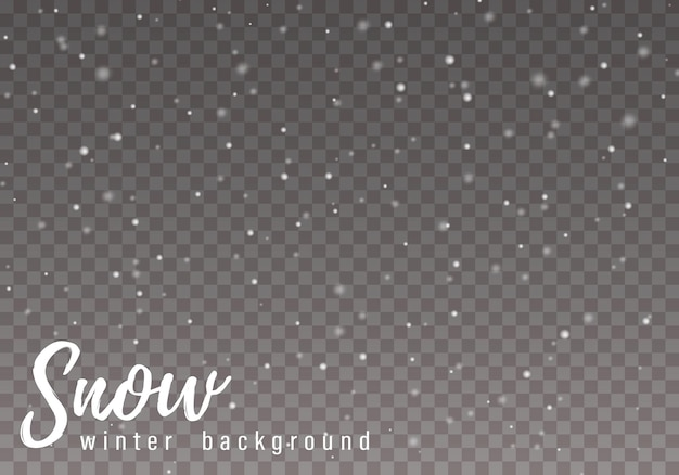 白い火花と星が特別な光の効果を輝かせます。雪。グレア