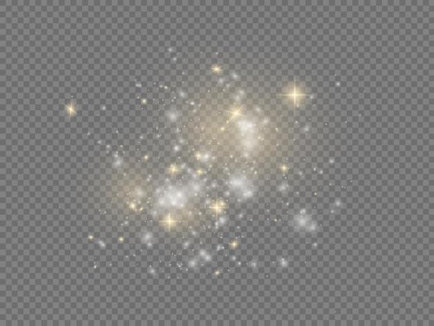 ホワイトスパークスターシャインクリスマススパークルライトエフェクトスパークリングマジックダスト粒子スパークル