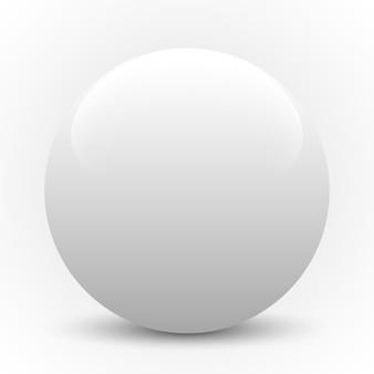 白い球。図。