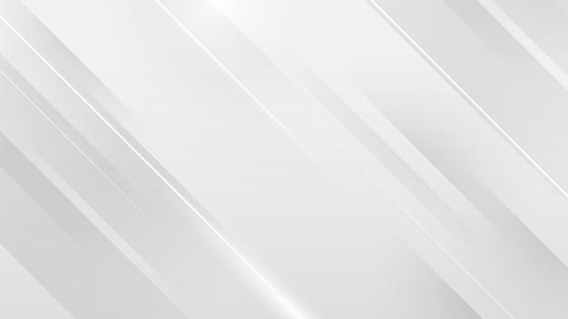 白い正方形の抽象的な技術コンセプトの背景