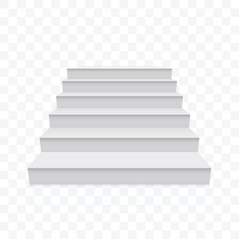 Белые лестницы