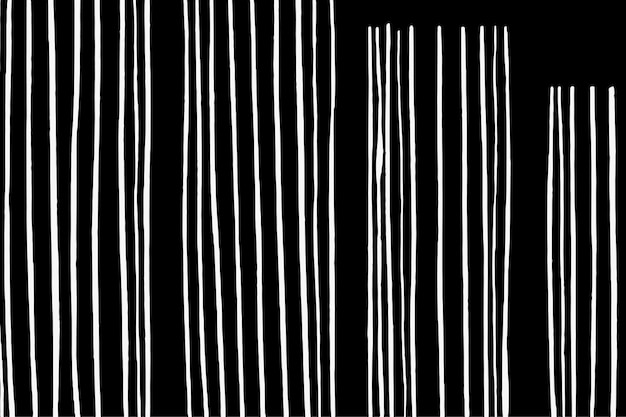 White strips on a black background