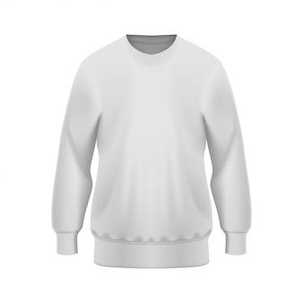 White sweater mockup