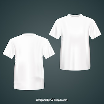 White T Shirt Mock Up Psd File Free Download