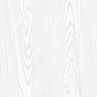 白いベクトルのシームレスな木のテクスチャ
