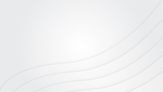 White wave background with empty space