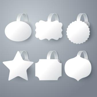 White wobbler design