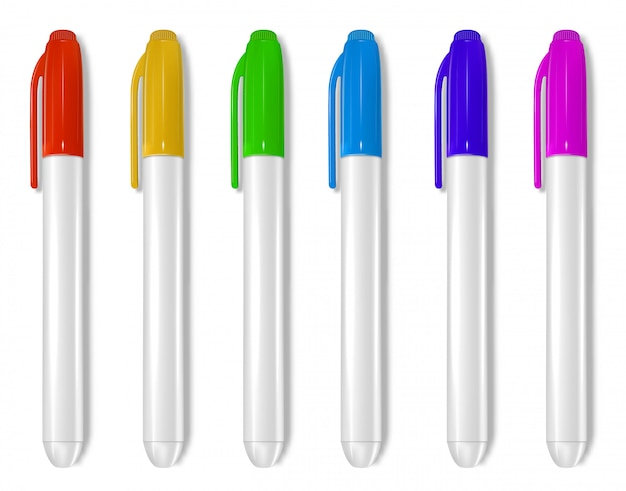 Whiteboard markers collection