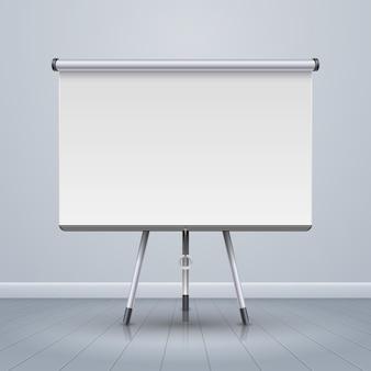 Whiteboard projector screen