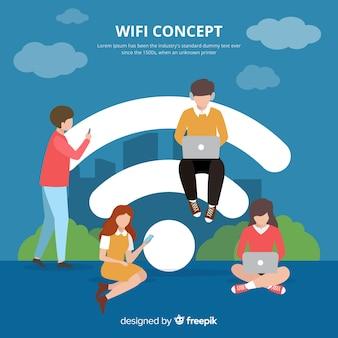 Концепция плоского wi-fi