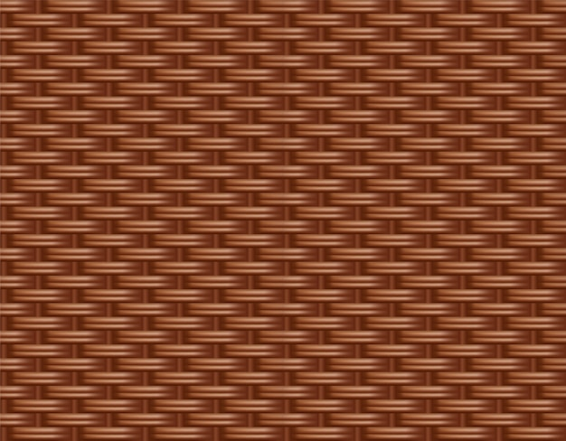 Wicker rattan background