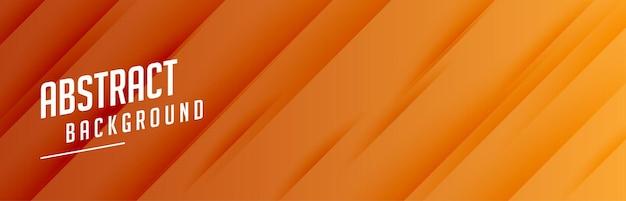 Banner largo con motivo a linee diagonali