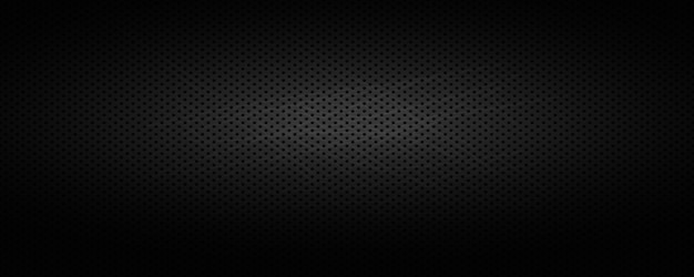 Wide black industrial background .