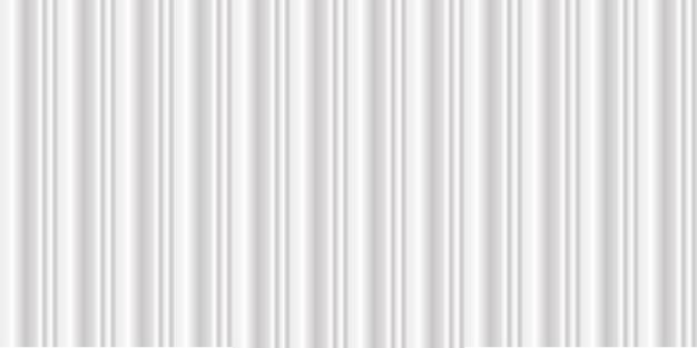 豪華な曲線と広いきれいなホワイトメタルテクスチャ背景