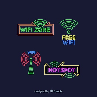 ネオンwifi信号収集