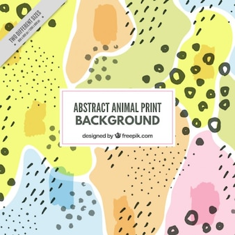 Wild abstract animal background