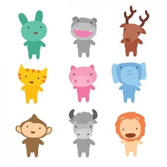 Коллекция диких животных