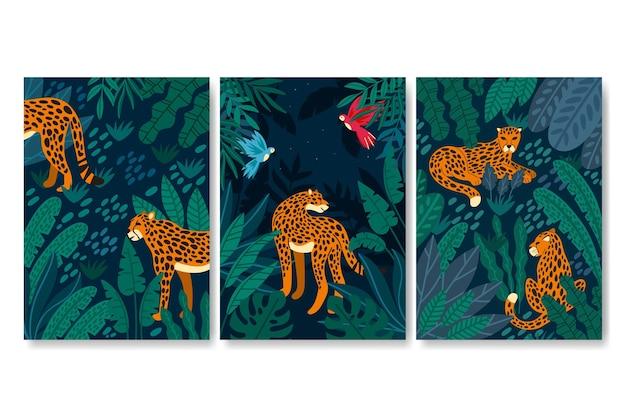 야생 동물 커버 컬렉션
