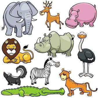 野生動物セット
