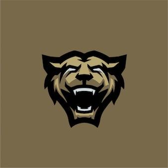 Wild bear e sports logo