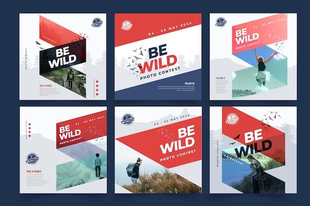 野生の自然のinstagramの投稿コレクション