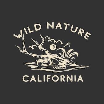 Дизайн футболки дикой природы