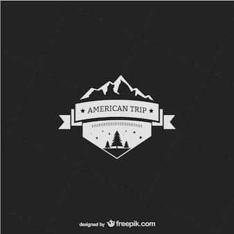 Wilderness logo template