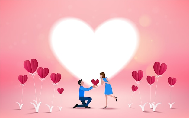 Will you marry me invitation card