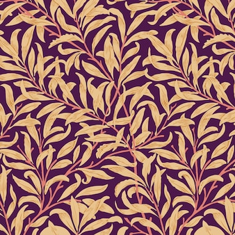 Willow bough by william morris (1834-1896). original from the met museum.