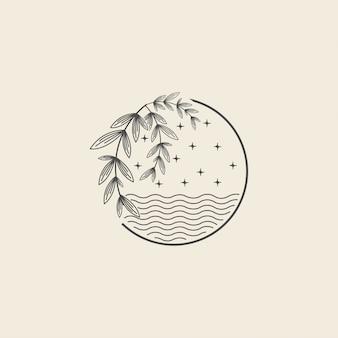 버드 나무 크릭 로고