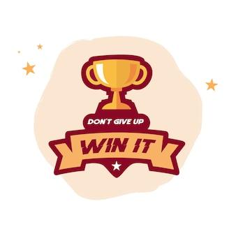 Win it emblem