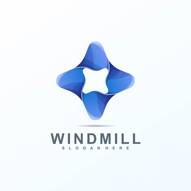 Wind mill logo