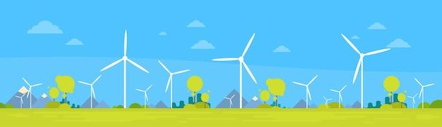 Wind station alternative energy